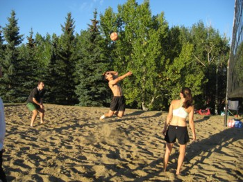 Competitive Beach Volleyball Bow River Park Pumphouse Fri Sep